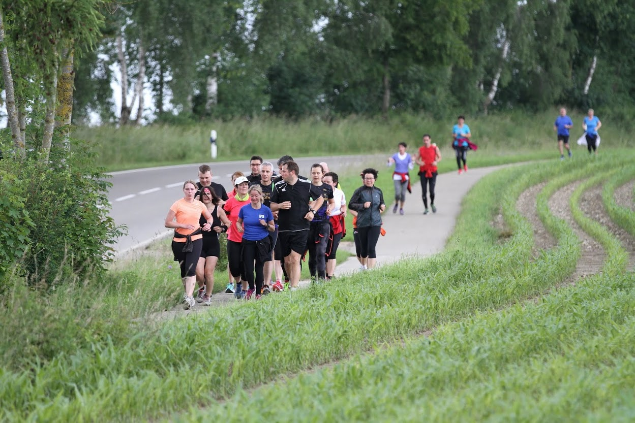 Laufgruppe 2016 2